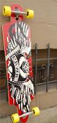 El arte en un Longboard