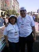 MARÍA ELENA Y ARMANDO, COMERCIANTES DEL MERCADO RÍO BLANCO DEL DISTRITO FEDERAL.