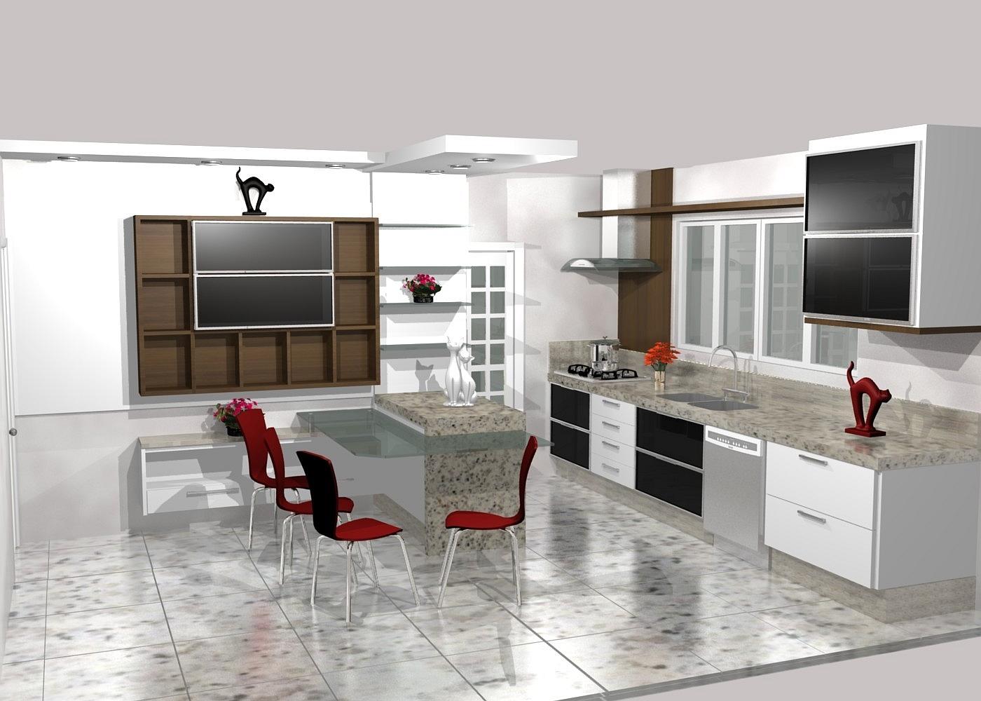 Cozinha Sob Medida Marcenaria Moveis Planejados Furniture Kitchens  #A73124 1400 1000