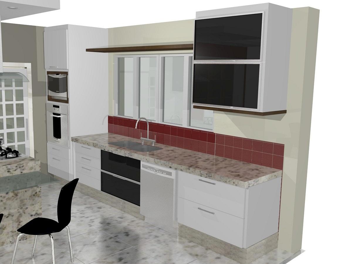 moveis planejados para cozinha pequena americanaIdéias de decoração  #673633 1200 900