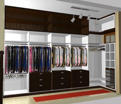 M veis planejados marcenaria casacor noivas painel laca for Modelos de closets para dormitorios modernos