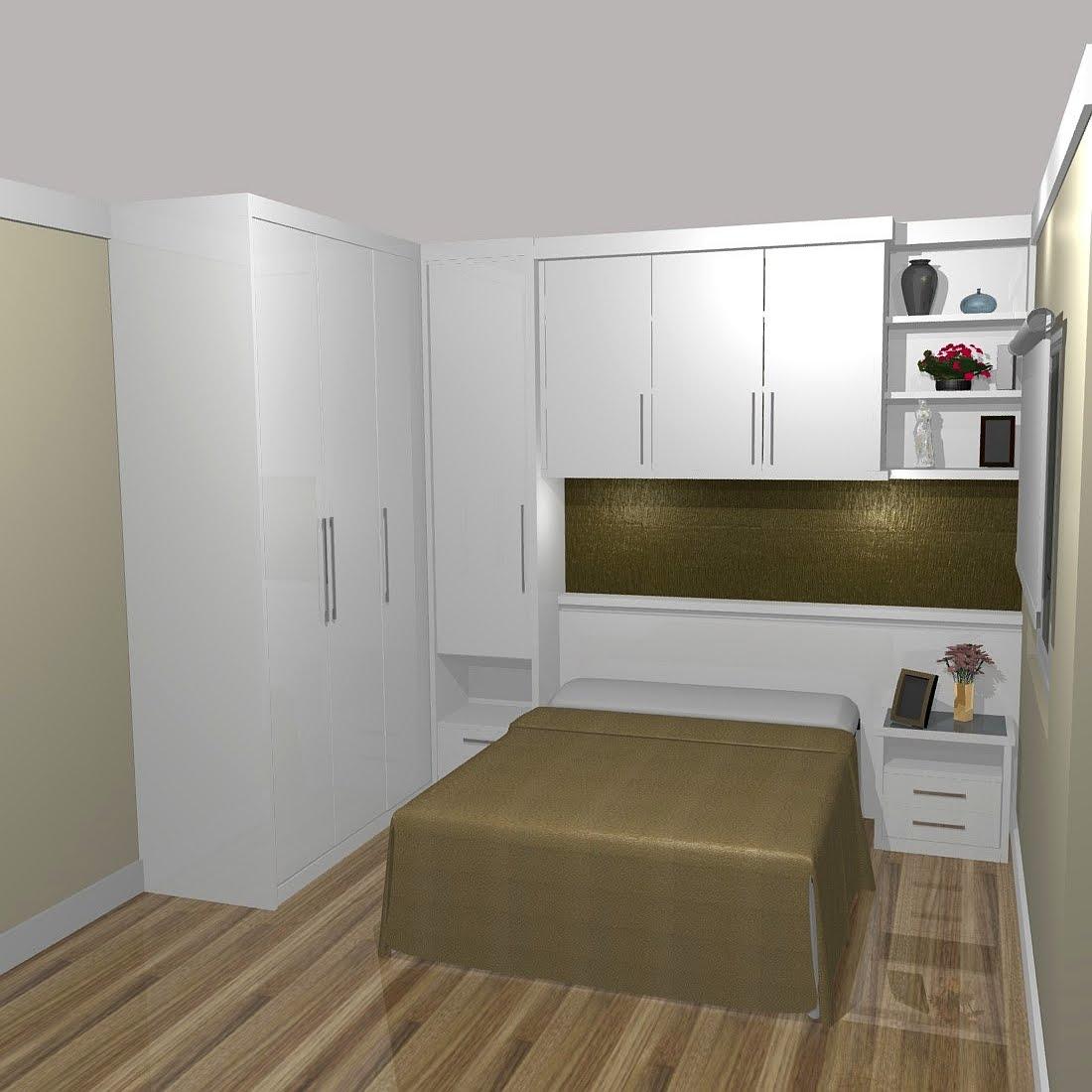 MÓVEIS PLANEJADOS MARCENARIA CASACOR NOIVAS PAINEL LACA  ~ Quarto Planejado Pequeno Casal Com Closet