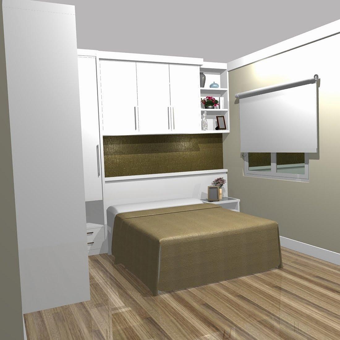 Quarto Casal Planejado Apartamento ~ Postado por M?VEIS PLANEJADOS CASACOR ARM?RIOS NOIVA 3D MARCENARIA