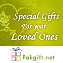 Send Gifts 2 Your Luvd 1s in Pakistan