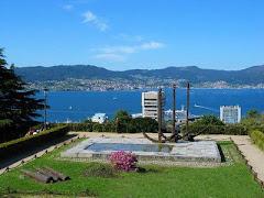 """Vigo, mi querida ciudad. (Foto: Parque de El Castro, uno de sus muchos """"pulmones verdes"""")."""
