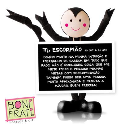 Blog BoniFrati: Parabéns turma do signo de Escorpião!