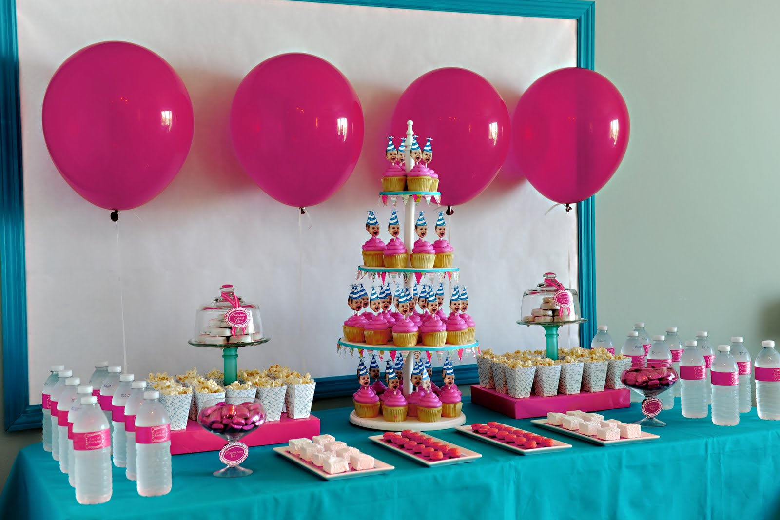 bella grace party designs: {real party} one year old in a flash
