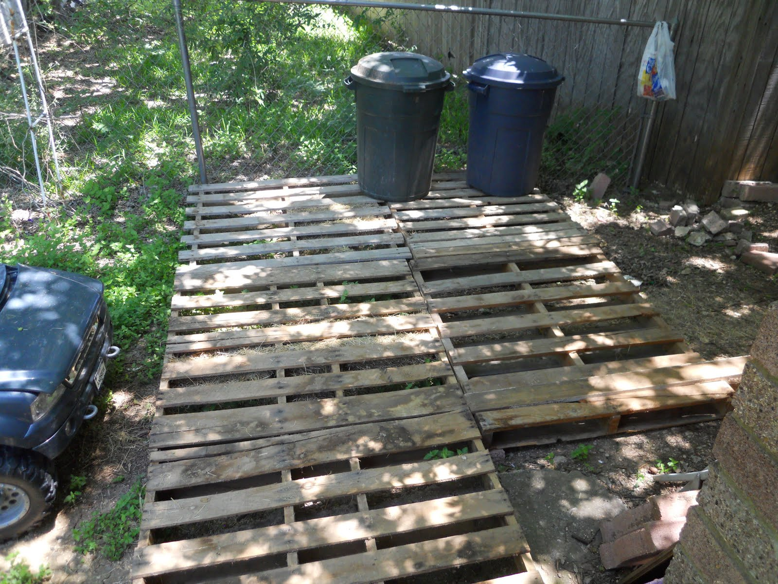 Oranges for adam pallet deck for Decking made from pallets