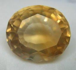 batu permata kecubung kuning