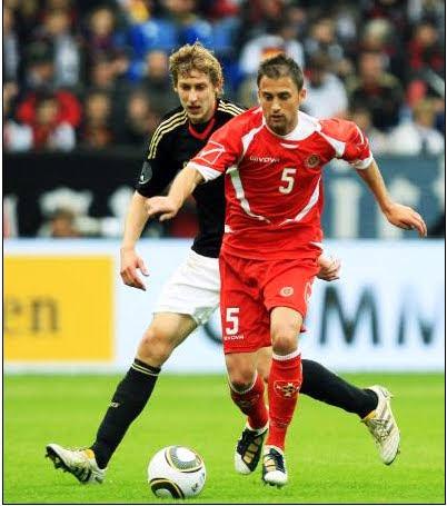 Germany Vrs Malta Andrei Agius No 5