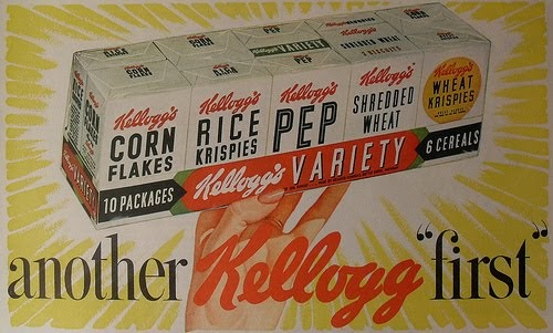 Food In The Fifties Cereals Of The 1950s