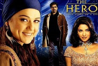 The Hero: Love Story of a Spy (2003) DM - Sunny Deol, Preity Zinta, Priyanka Chopra, Amrish Puri, Kabir Bedi, Rajpal Yadav, Deep Dhillon, Shahbaaz Khan