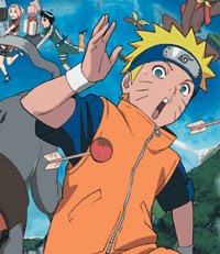 Naruto 3rd Movie: The Animal Riot of Crescent Moon Island is released!