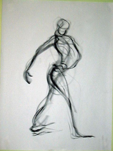Scribble Line Gesture Drawing : Martha holmes