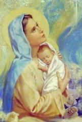Propuesta: pidamos,como hijos del amor a nuestra Santísima Madre,la que nos dio la vida: JESUS: