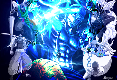 god enel eaten devi fruit on one piece wallpaper