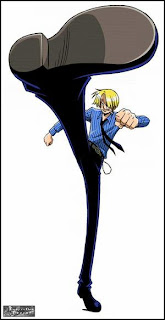 black leg sanji one piece