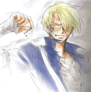 black leg sanji one piece
