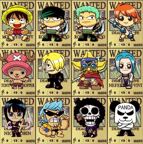 bounty one piece all krakter anime picture