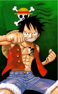 one piece green anime picture