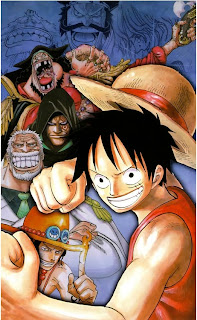 one piece green anime