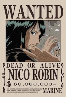 bounty nico robin