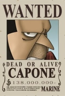 bounty capone bege one piece