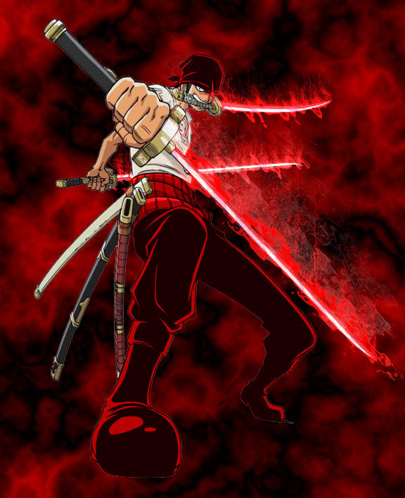 One Piece Zoro Wallpaper: Anime Pictures: Roronoa Zoro Wallpaper
