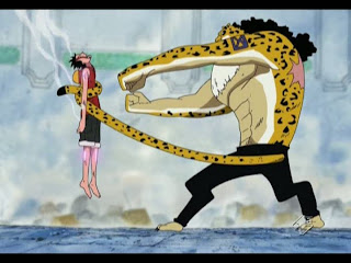 rob lucci vs luffy anime one piece