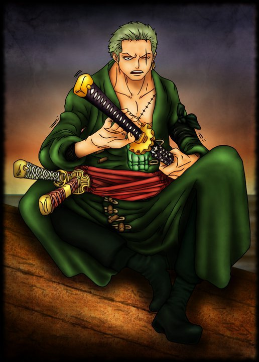 roronoa zoro anime piece after Zoro After 2 Years
