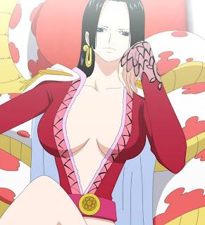 boa hancock anime one piece