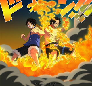 portgas d ace and monkey d luffy