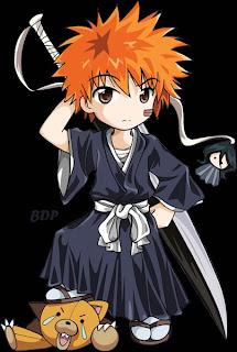 kurosaki ichigo cute funny