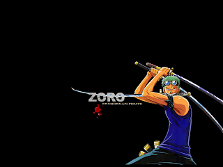 roronoa zoro wallpaper one piece anime 3d