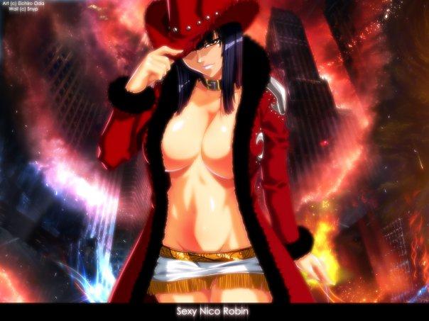 Nico Robin Wallpaper New One Piece Anime 3d