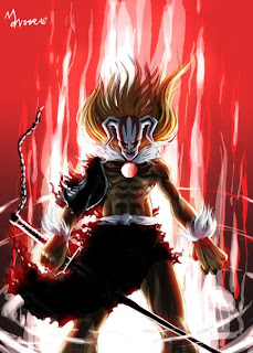 kurosaki ichigo hollow new form bankai final getsuga tenso new wallpaper bleach