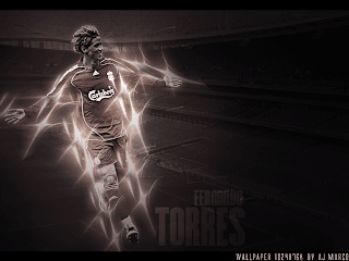 fernando torres liverpool soccer wallpaper 2009 2010 2011 family spain