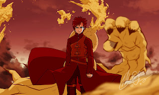 gaara naruto wallpaper cool kazekage shippuden of the desert sand