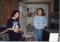 Nίκος Παπάζογλου και Yeah στο στούντιο Αγροτικόν