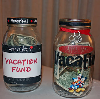 Disney Vacation Savings Jars