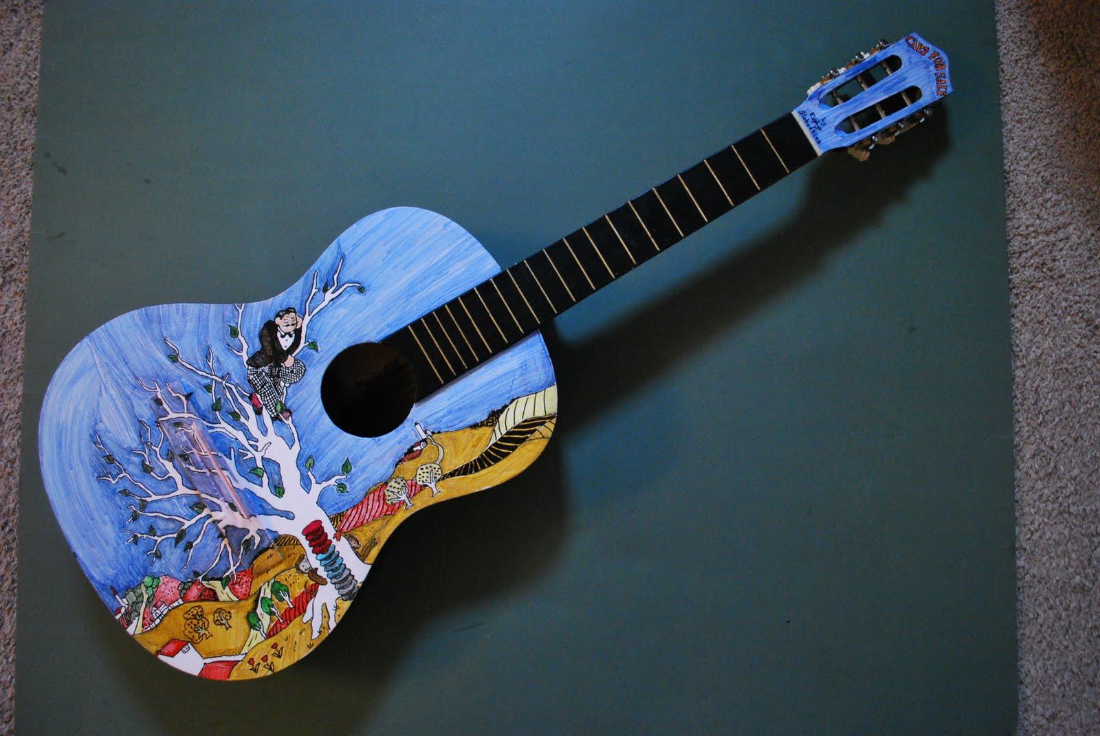 Guitar Designs Art : Guitar design mark fraley art