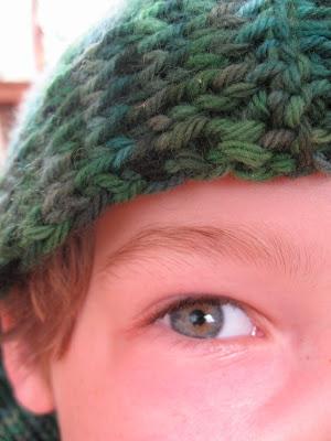 Lizard Ridge Afghan - Free Knitting Pattern