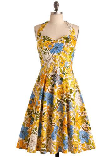 Summer dress easy pattern circle
