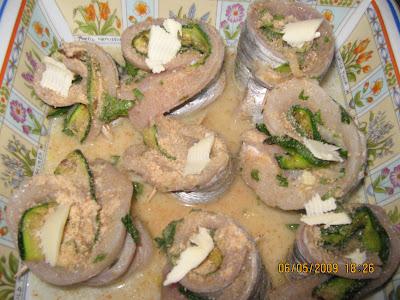 Gliamorididida involtini di pesce spatola con zucchine - Cucinare le zucchine in modo dietetico ...