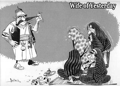 old day wife life. they very obey to their husband