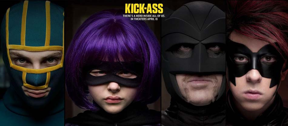 Đá Đít ,Kick-Ass, Shut Up Kick Ass