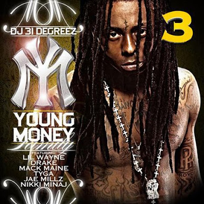Drake Lil Wayne Nicki Minaj - Young Money Family 3 Cover Download