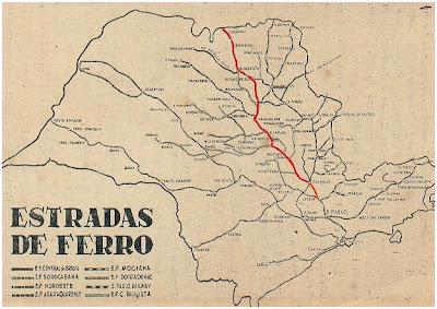 Companhia Paulista de Estrdas de Ferro / Paulista Railways Company / Sao Paulo / Jundiai / Rio Claro / Industrial Eucalyptus Pioneers
