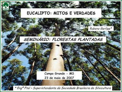 Six Myths about Eucalyptus / Seis Mitos sobre los Eucaliptos /GIT Forestry Consulting, Consultoría y Servicios de Ingeniería Agroforestal, Lugo, Galicia, España, Spain / Eucalyptologics, information resources on Eucalyptus cultivation around the world / Eucalyptologics, recursos de informacion sobre el cultivo del eucalipto en el mundo