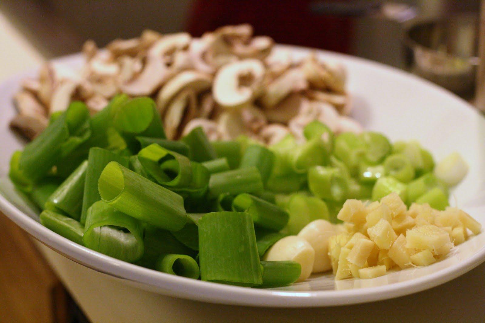 Laine's Recipe Box: Shrimp and Bok Choy Stir-Fry